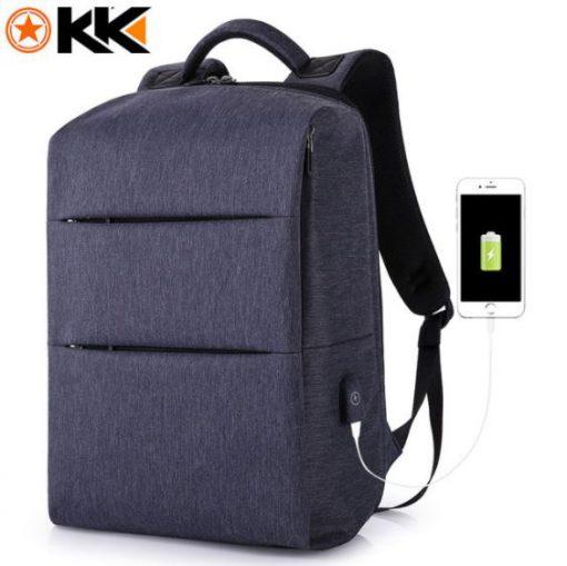 balo laptop chống nước cao cấp kaka-805 blue